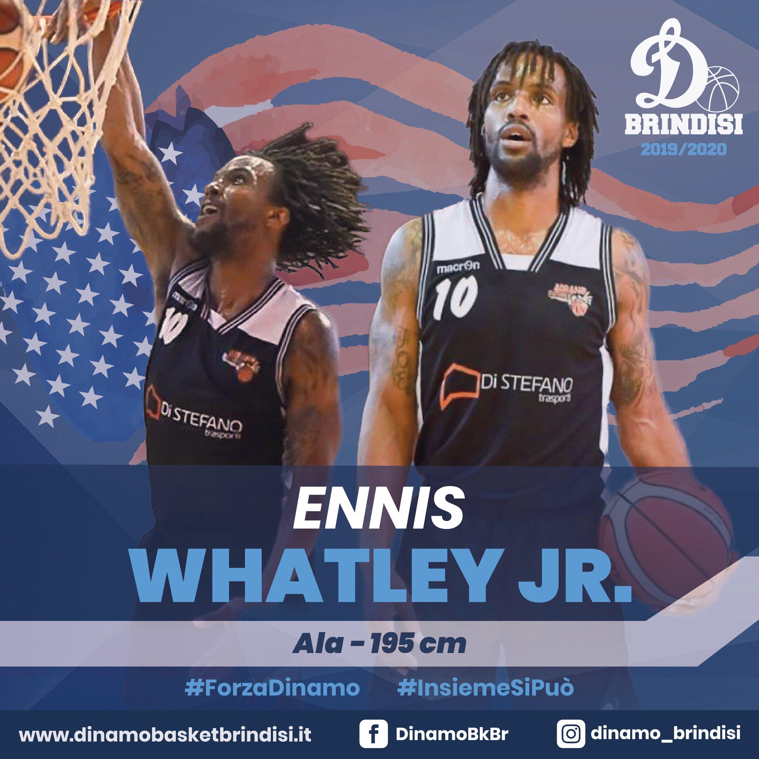 Il funambolo Ennis Whatley Jr. è il colpo della Dinamo