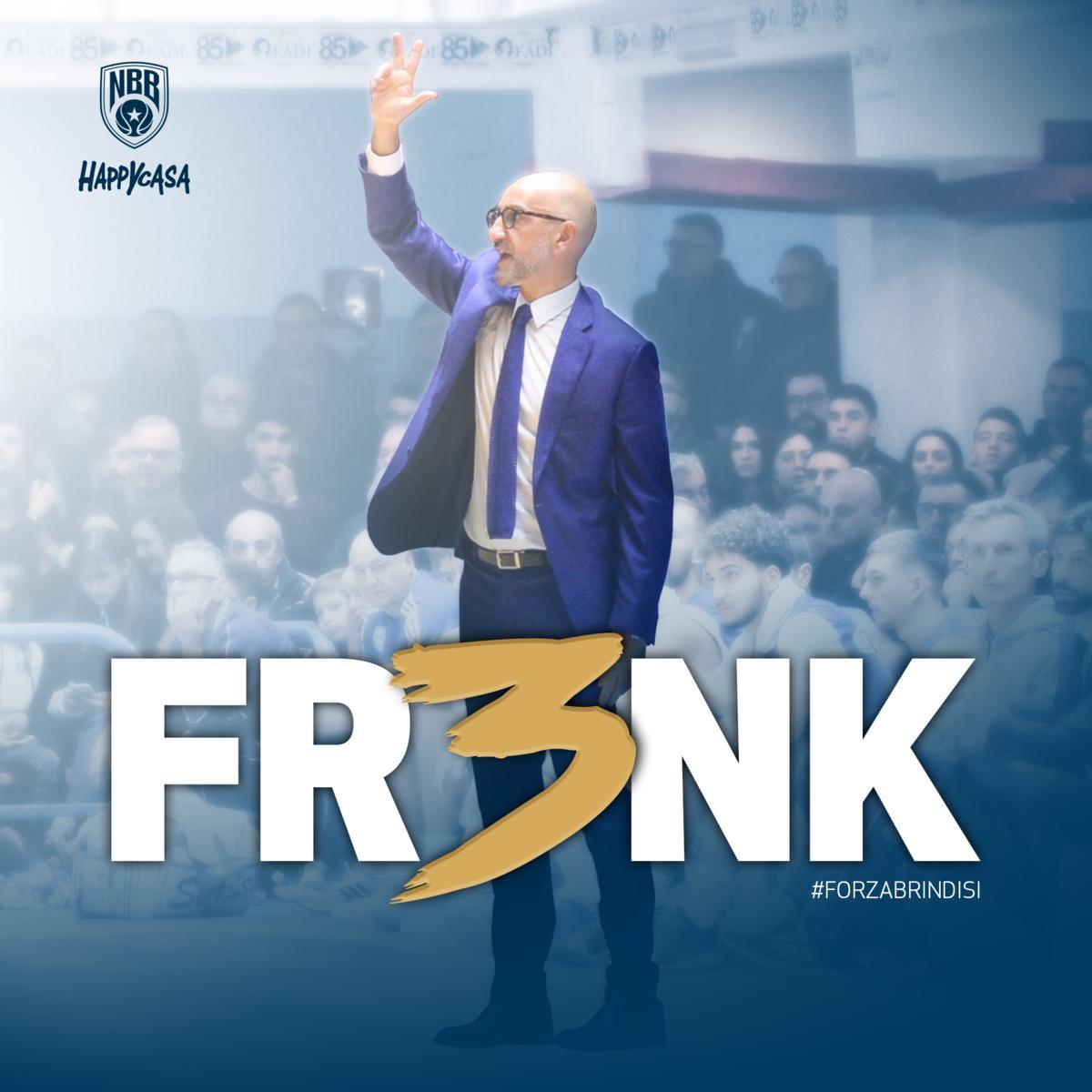 Fr3nk – Rinnovo fino al 2022 con coach Vitucci
