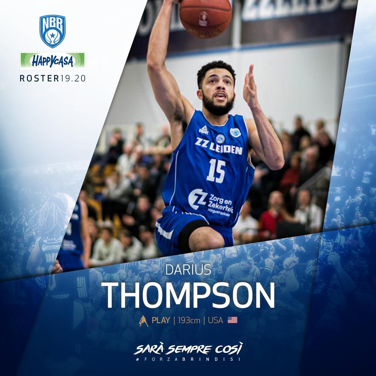 Happy Casa, preso Thompson