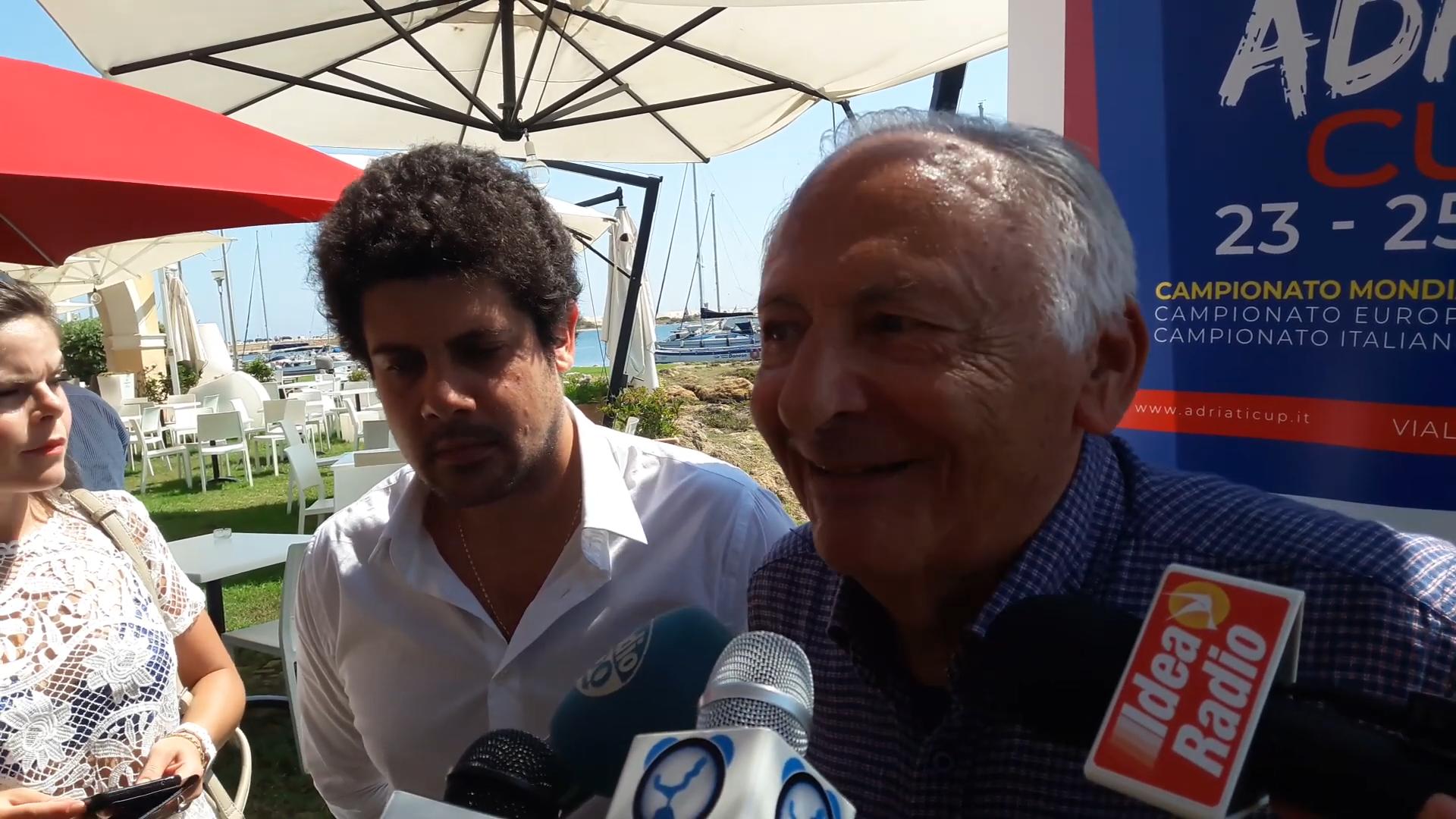 VIDEO – Adriatic Cup e concerto Emozioni, le dichiarazioni di Mogol