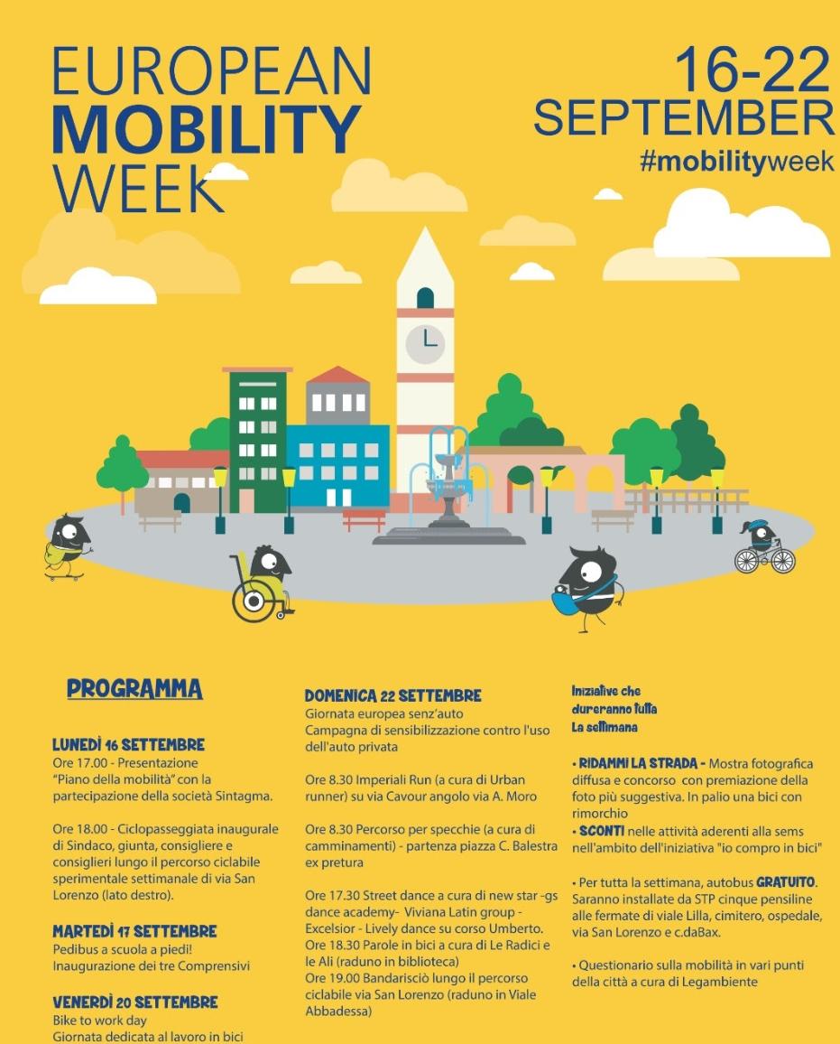 A Francavilla grande attenzione per la mobilità sostenibile