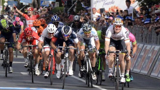 Il Giro d'Italia arriverà a Brindisi il 16 maggio!