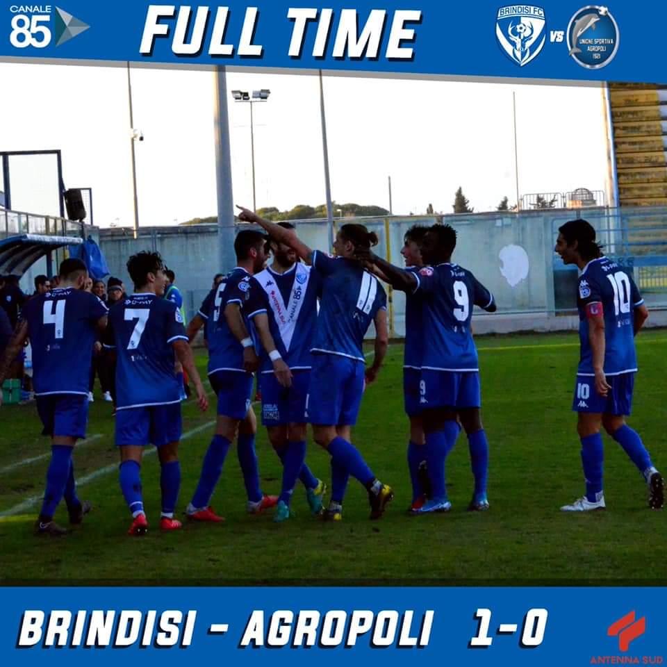 Il Brindisi si ricompatta e torna quello d'inizio campionato. Le pagelle di Luigi Rubino