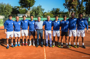 La squadra di serie A2 del CT Brindisi