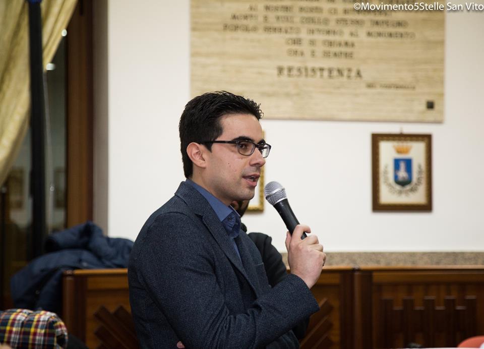 San Vito, Ruggiero (M5S): una maggioranza zoppa retta da quattro stampelle di finta opposizione