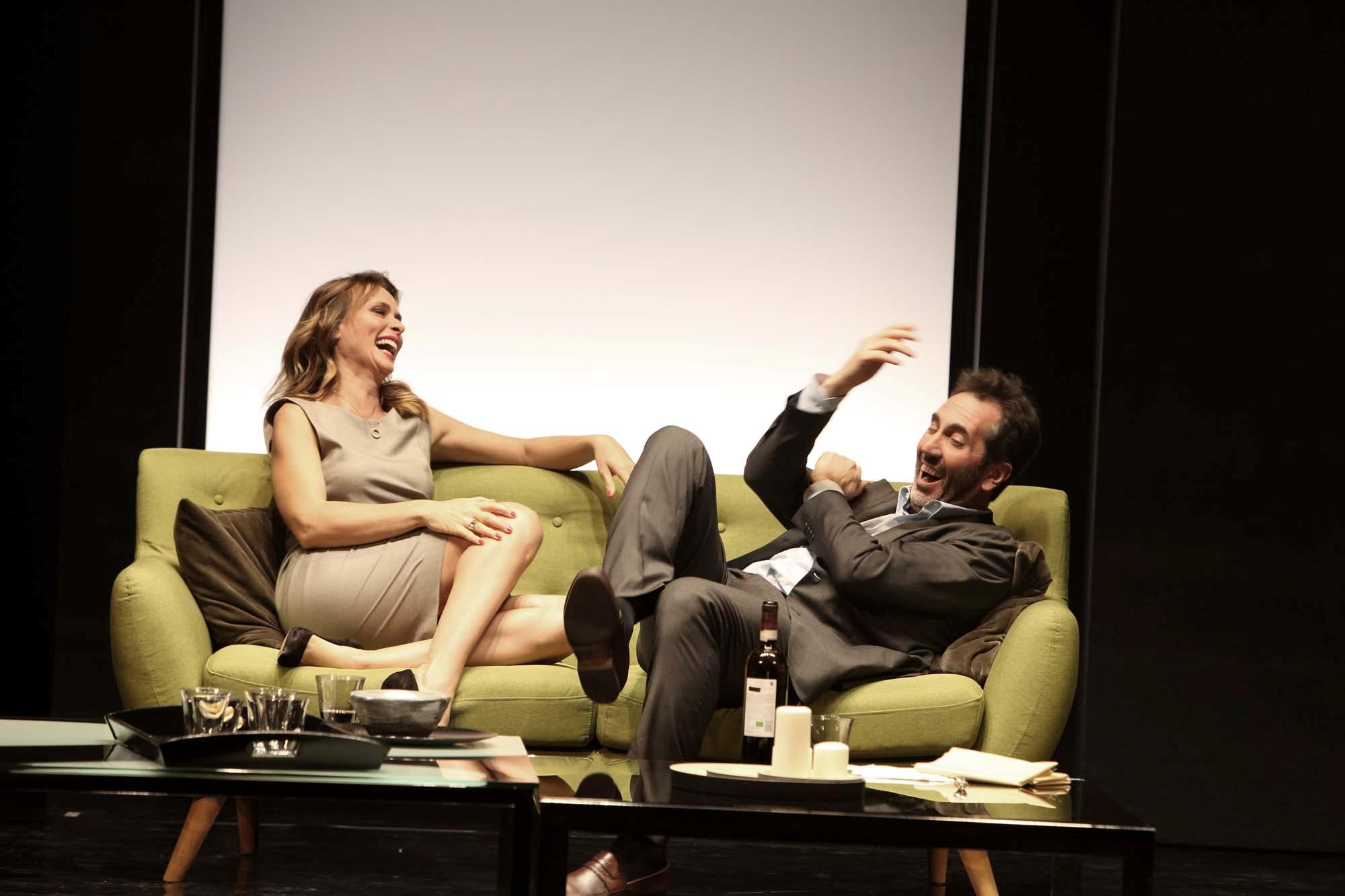 «La Menzogna»: Serena Autieri e Paolo Calabresi al Verdi di Brindisi
