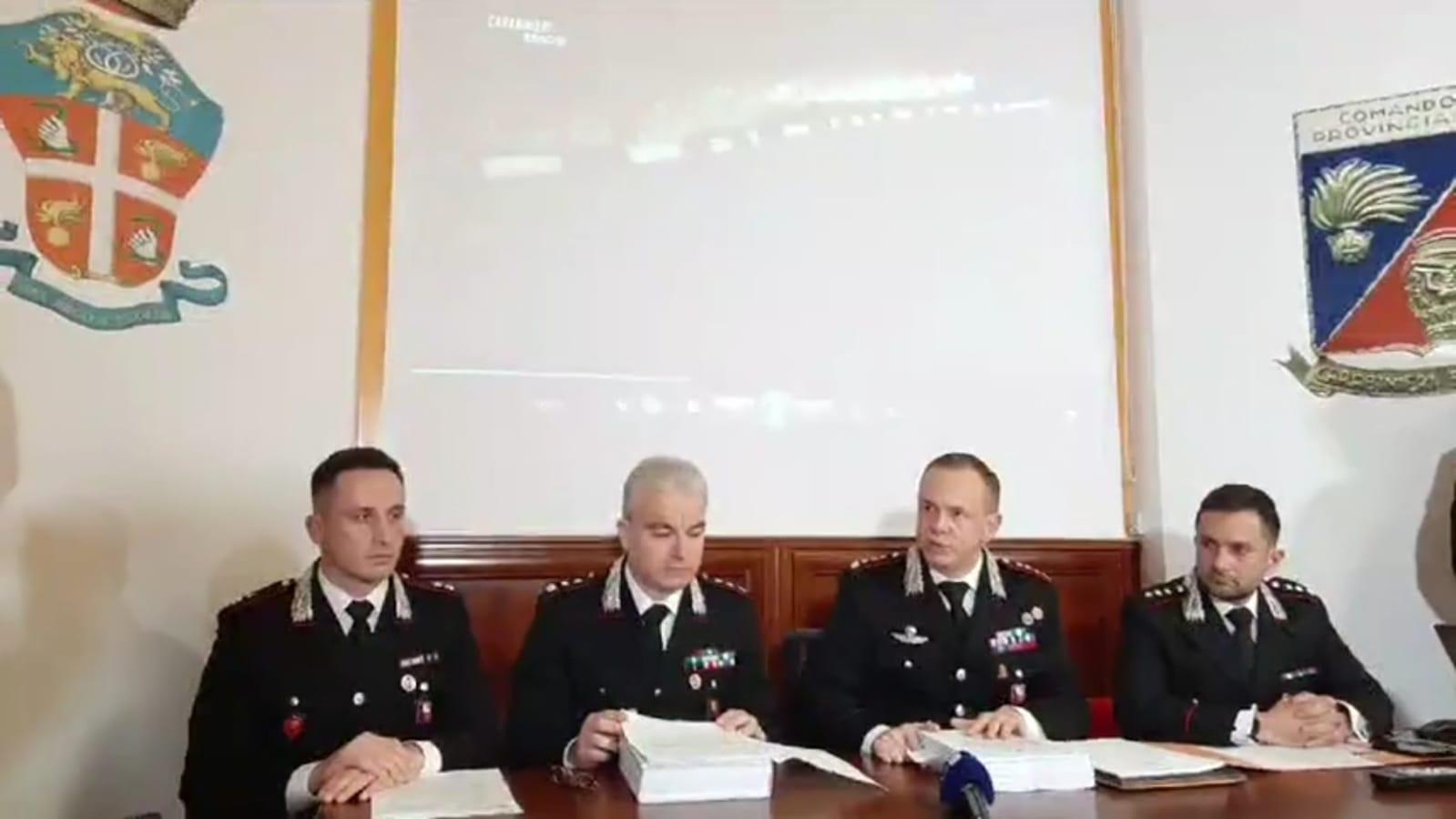 Città nella morsa della Scu: nomi e dettagli dell'operazione culminata con 37 arresti