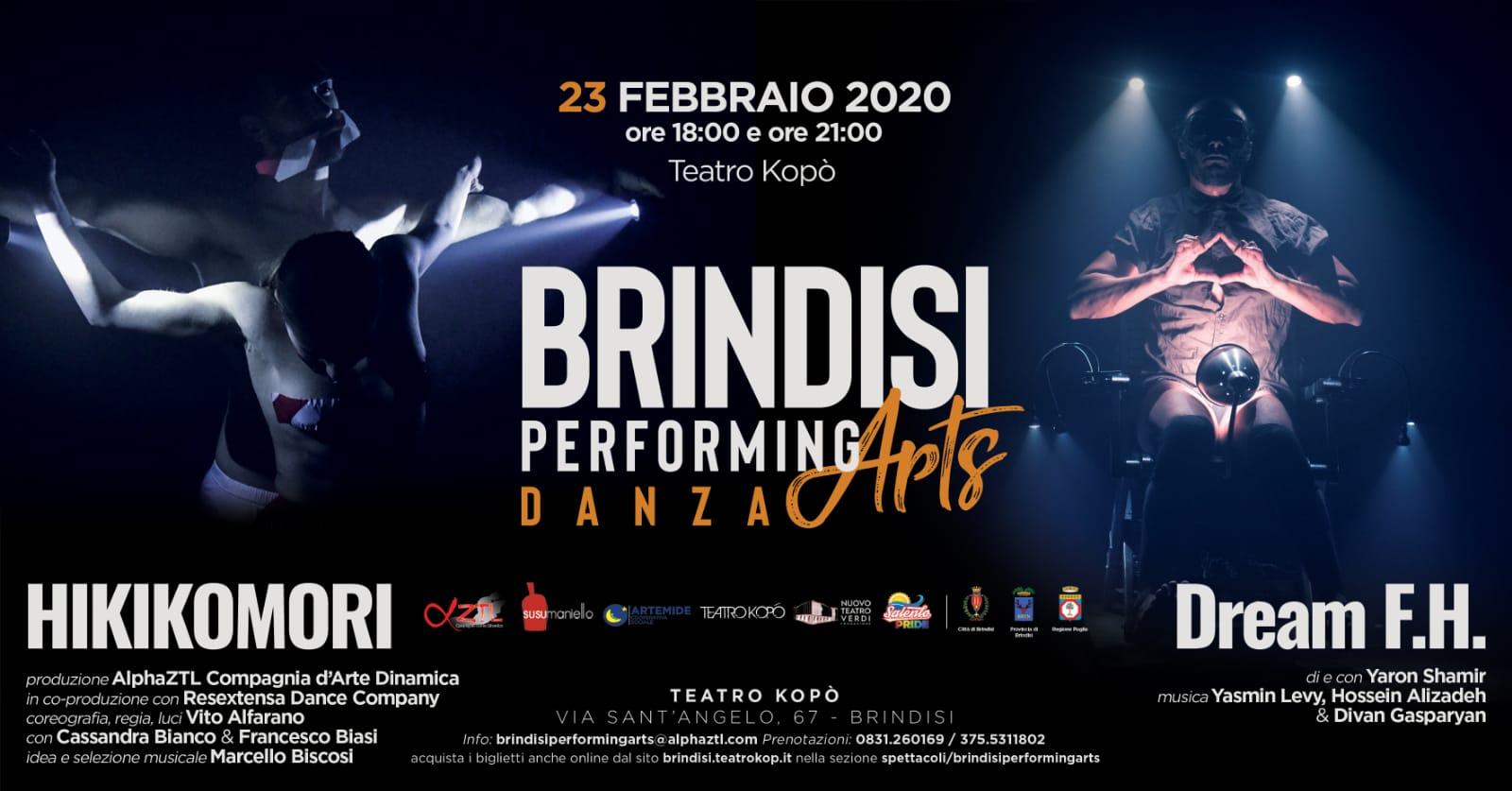 Il 23 febbraio lo spettacolo Hikikomori al Teatro Kopó