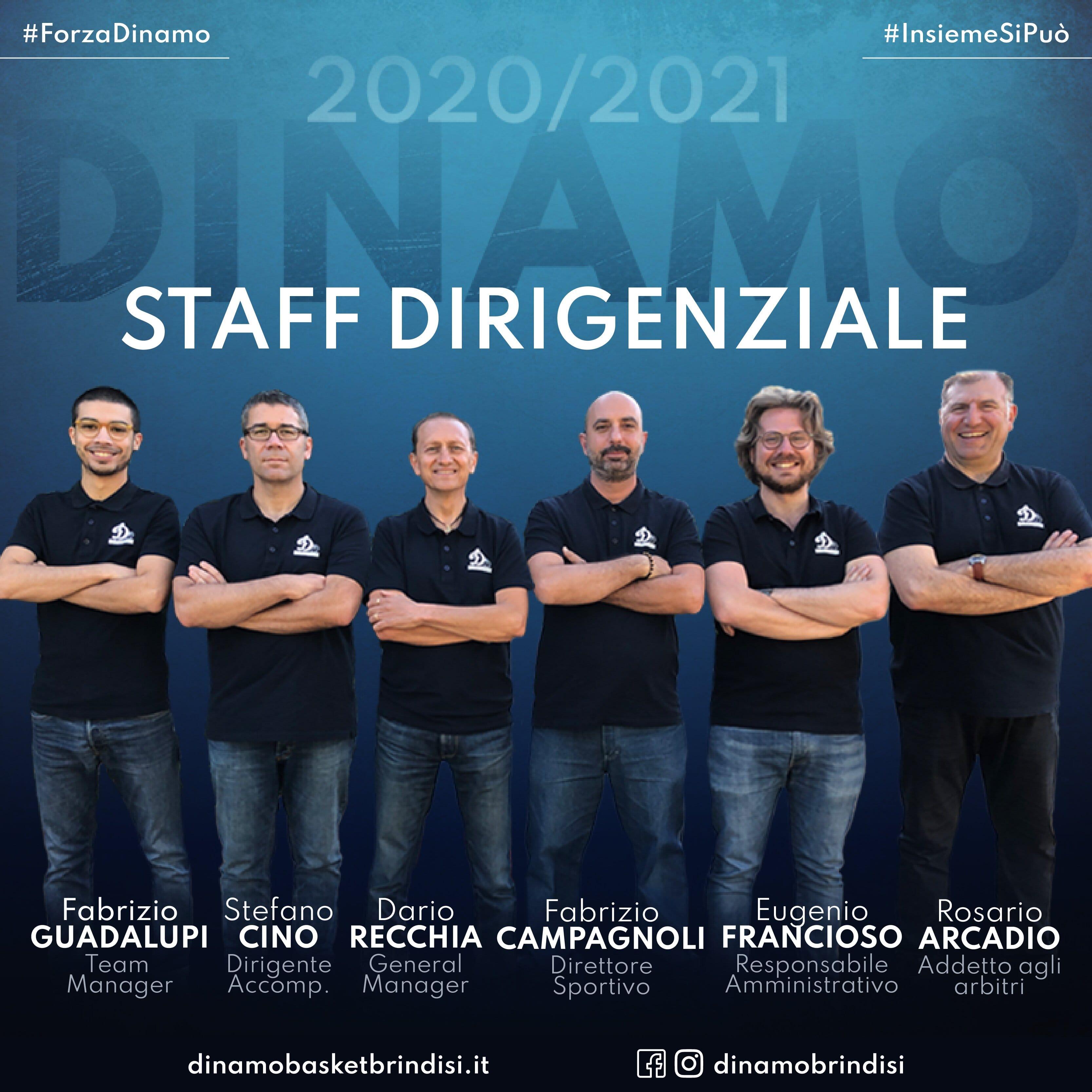 La Dinamo riparte confermando l'intero staff