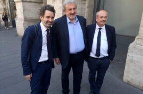 Carlo Salvemini, Michele Emiliano e Riccardo Rossi-3