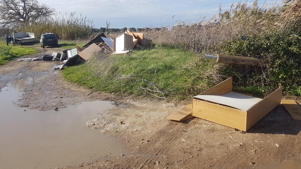 Finanziamento da Regione Puglia per la rimozione di rifiuti abbandonati
