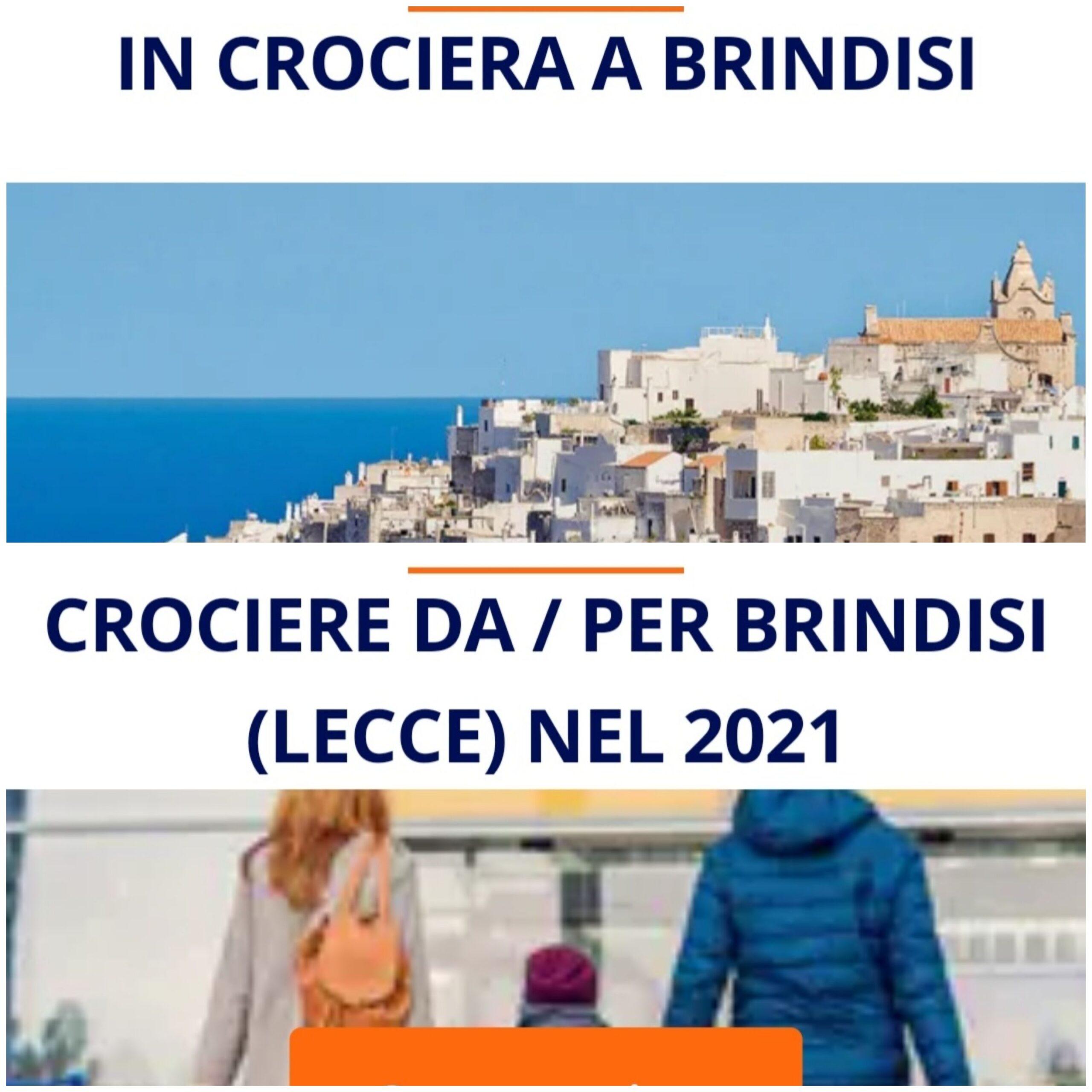 Msc preferisce Porto Cesareo a Torre Guaceto e presenta Brindisi come Lecce/Ostuni. A Taranto tutta un'altra storia…