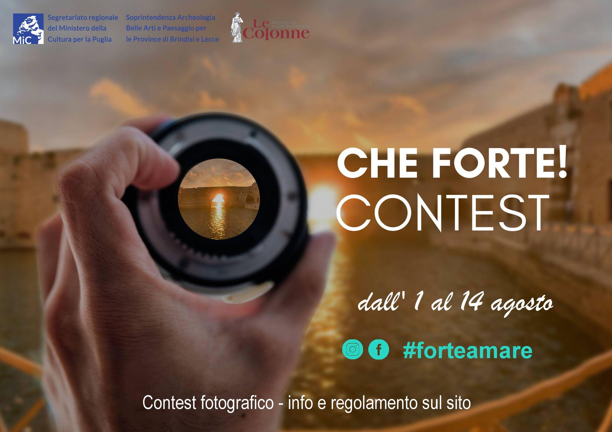 """Adotta il tuo castello con uno scatto d'amore: arriva il contest fotografico """"Che Forte!"""""""