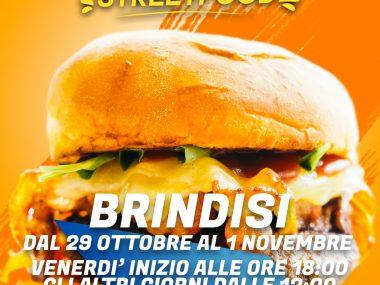 LOCANDINA XXIV TAPPA INTERNATIONAL STREET FOOD A BRINDISI